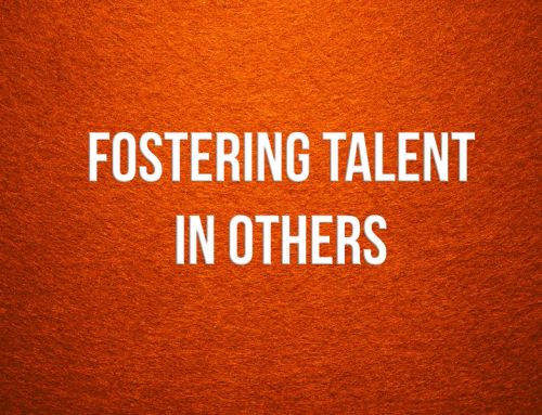 Fostering Talent in Others